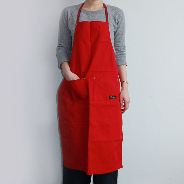 4POCKET CANVAS FULL APRON